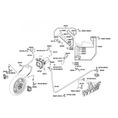 Bromssystem - Bromshandtag - Bromscylinder - Bromsslang