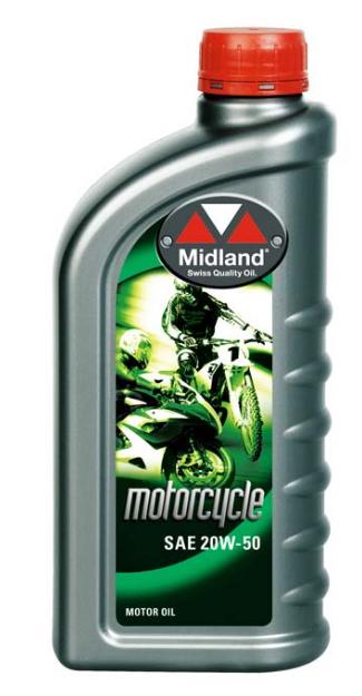 Midland 20w-50 MC 4-cycle 12 x 1L