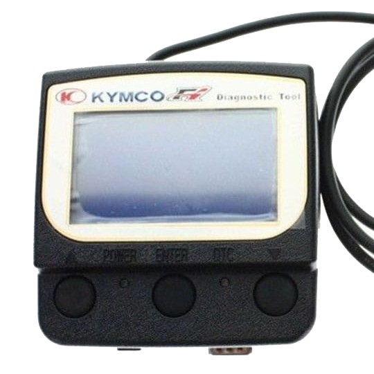 Kymco handhållet diagnosverktyg (Engelsk version)